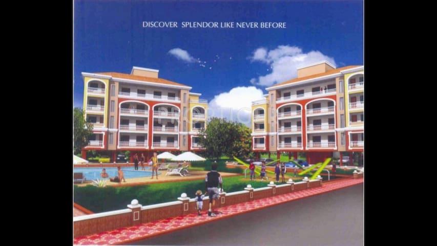 3BHK Furnished Apartment in Goa - Penha de França