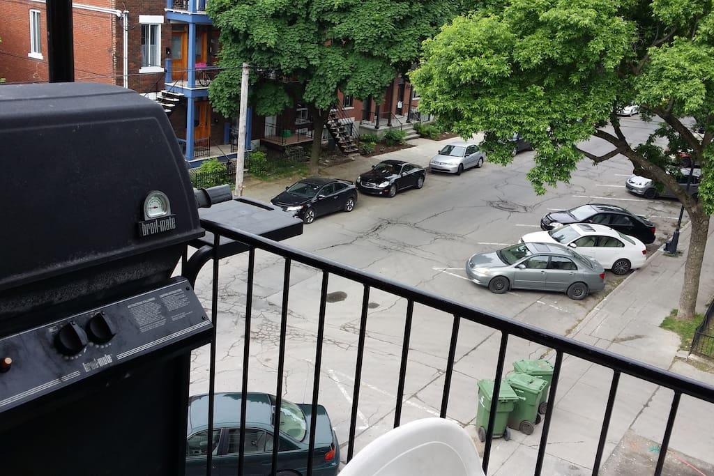 Terrasse et BBQ