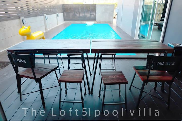 The Loft51 Hua-Hin pool villa