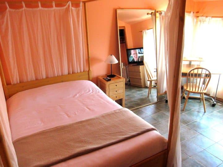 Peach Room Near BART in Safe Area