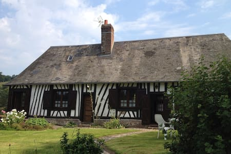 Charming authentic Normandy cottage - Rétonval - House