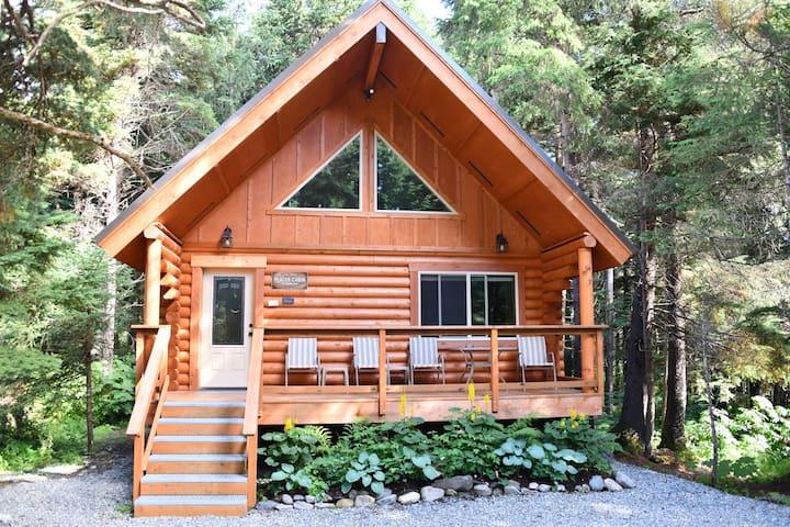 "Alyeska Hideaway Log Cabins ""Placer Cabin"""