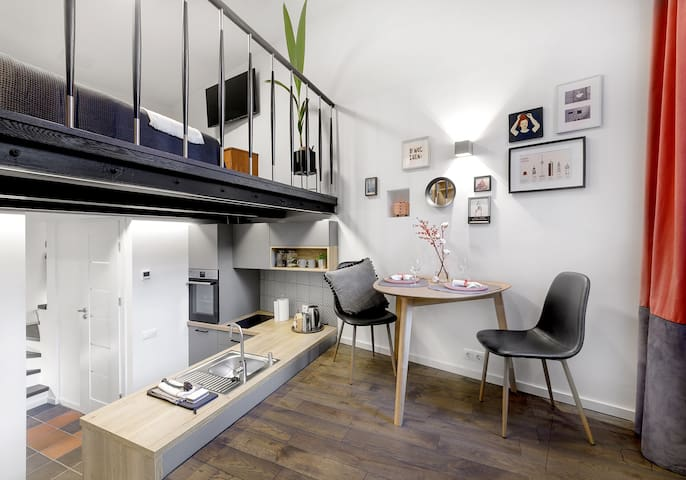 LITTLE TOWER STUDIO apartment in Vilnius Old Town