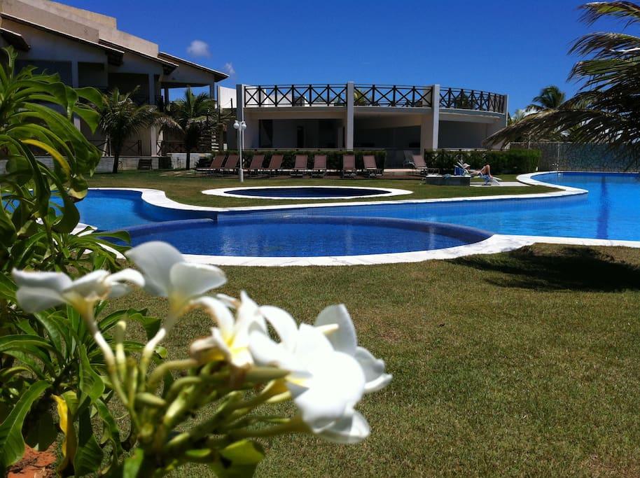 Garden area Buzios Beach Club
