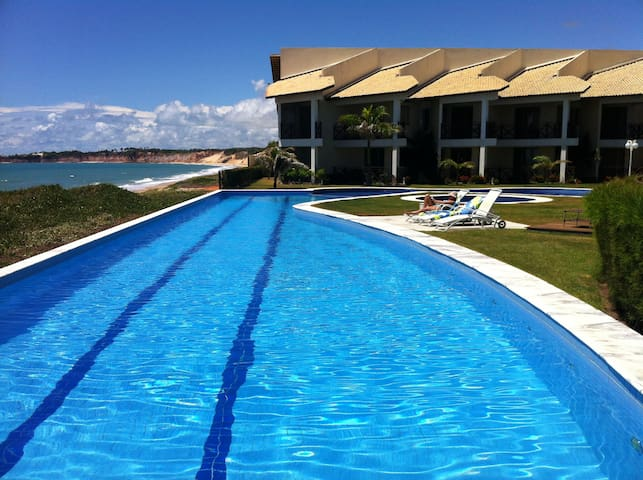 Beachfront apartment with seaview - Natal - Lakás