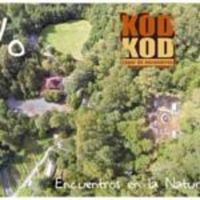Kodkod es un lugar sustentable y abierto al público para disfrutar de todas sus áreas