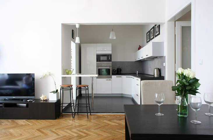 Beautiful Chic Apartment in Prague
