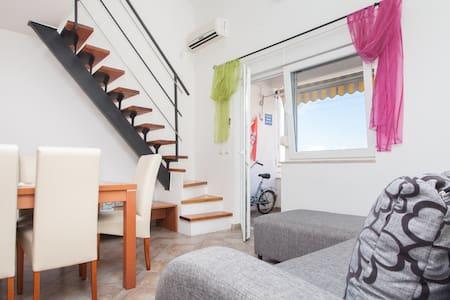 DUPLEX 6P AVEC VUE SUPERBE SUR MER  - Apartament