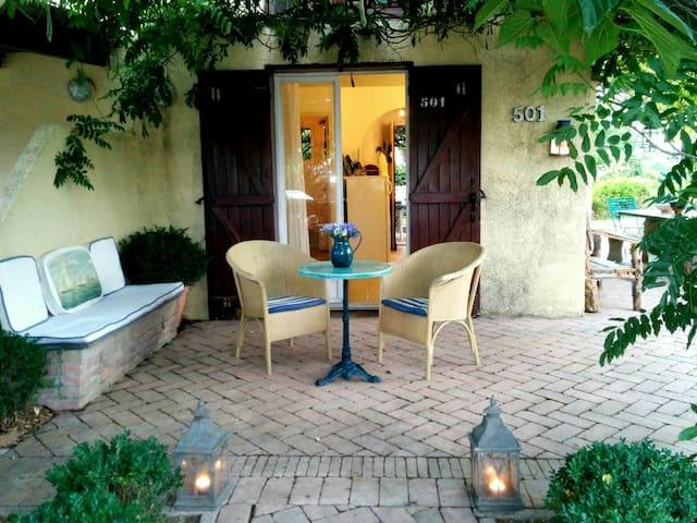 House with garden on the beach - Poggio-Mezzana - Hus
