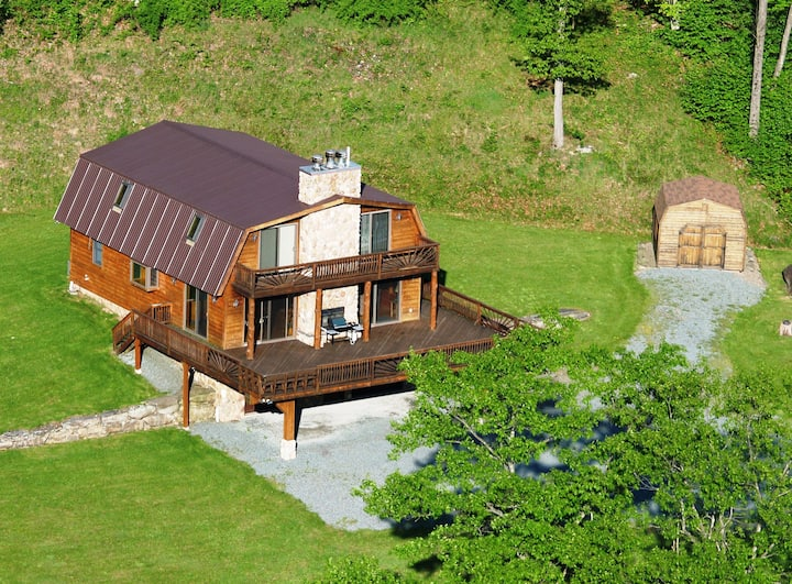 The Catskill Mountain Barn Home