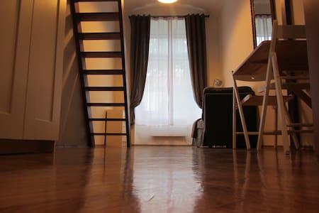 Cozy mezzanine studio - Praag