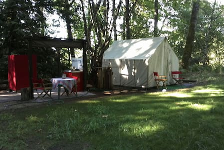 Glamping at Camp Heaven - Sherwood