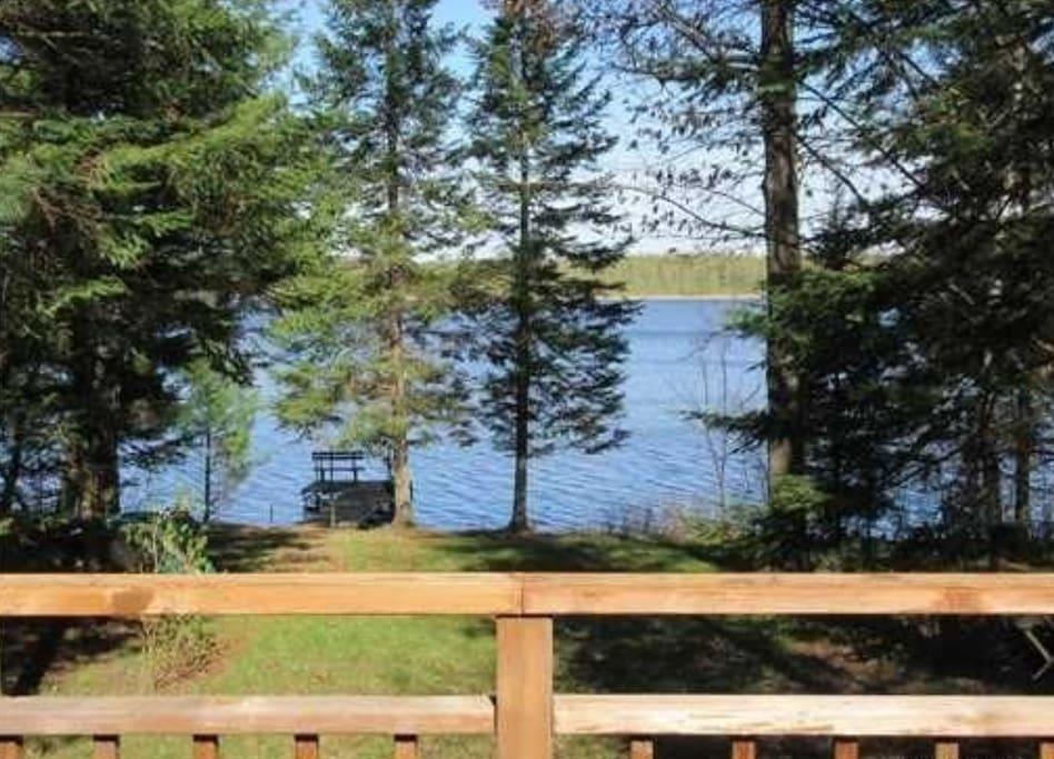 Marshmiller cabin sleeps 8 fishing atv trails cabins for Fishing cabin rentals wisconsin