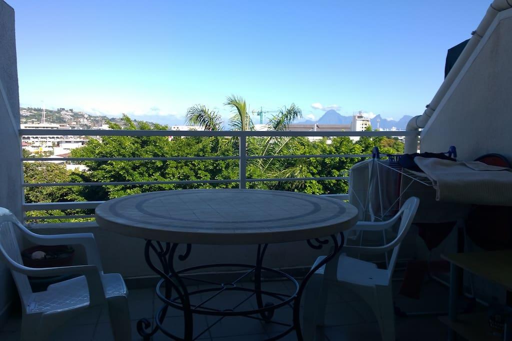 Balcon terrasse ..