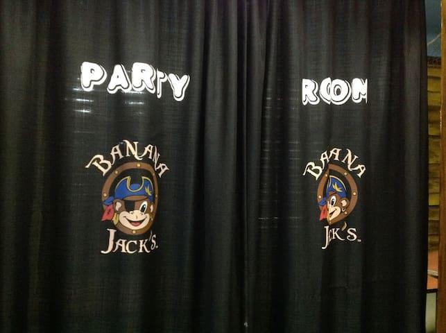 Banana Jack's Party Room