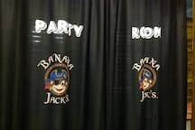 Banana Jack's Party Room