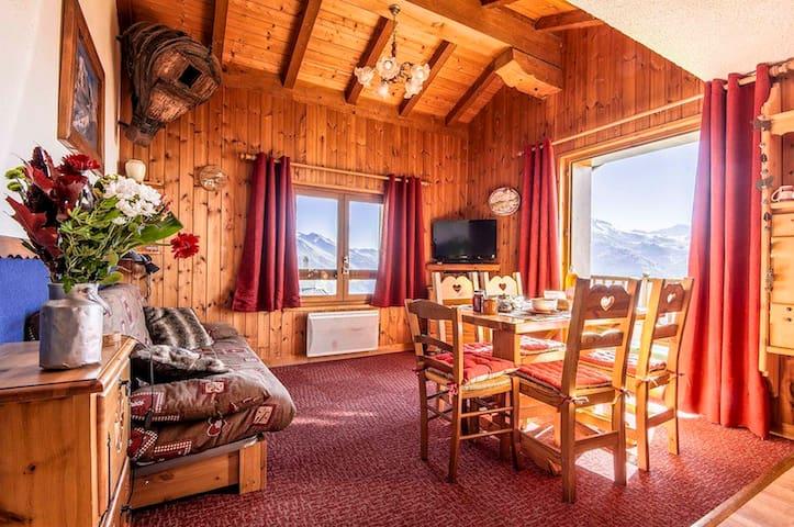 Appt 3*/6 pers/50m² in chalet - La Rosière resort