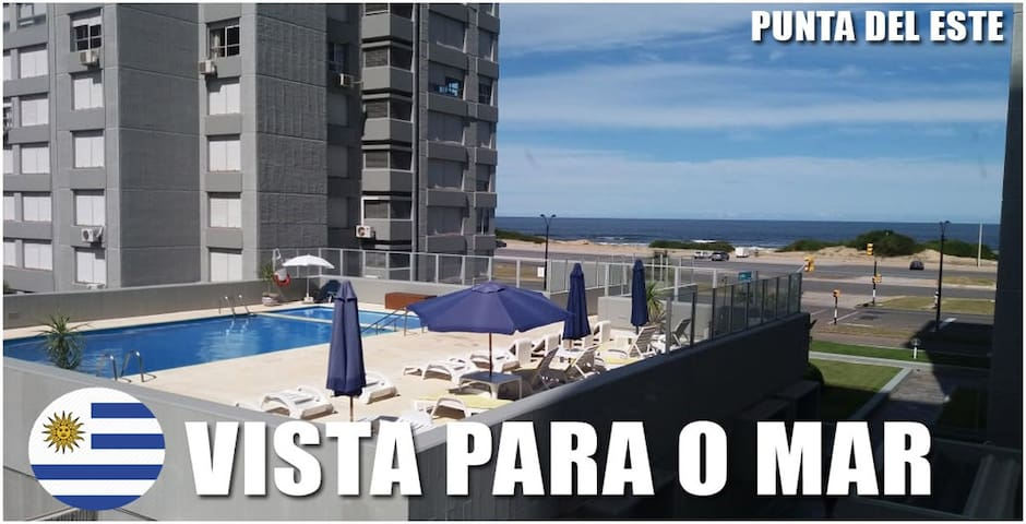 *BEST Location! Apartamento na Beira Mar de Punta!