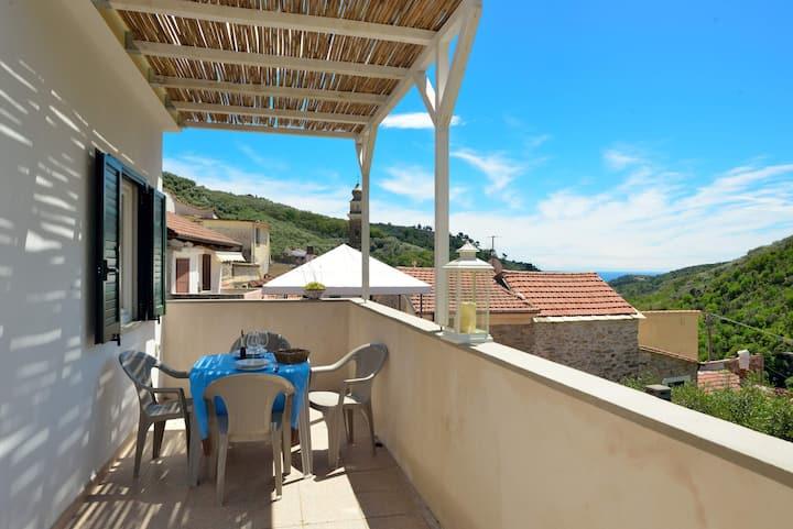 Casa Gloria:la vacanza in un tipico borgo ligure