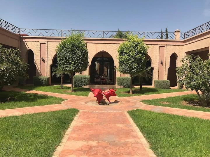 Superbe villa Marrakech