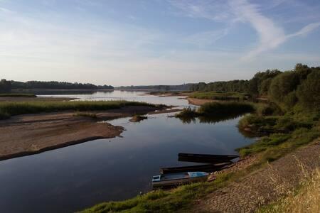 Maison familiale de charme dans le val de Loire - Gennes
