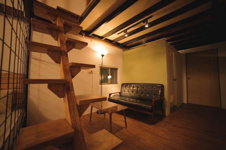 Jinzun Surf House | Loft suite B