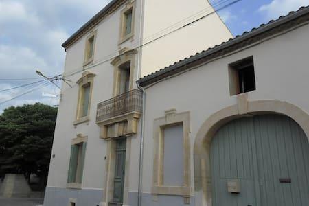 LOCATION SAISONNIERE MAISON DE CARACTERE LANGUEDOC - Montouliers