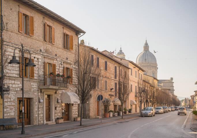 Il Giullare Pellegrino Camere - Assisi Porziuncola