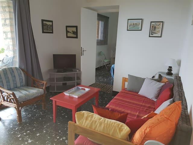Appartement fonctionnel calme vue mer