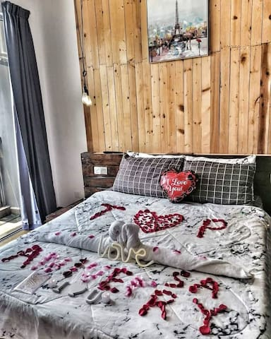 Romantic Deco Only Rm25 PM early for early preparation  We also provide others such as birthdays, anniversary, romantic, honeymoon etc.