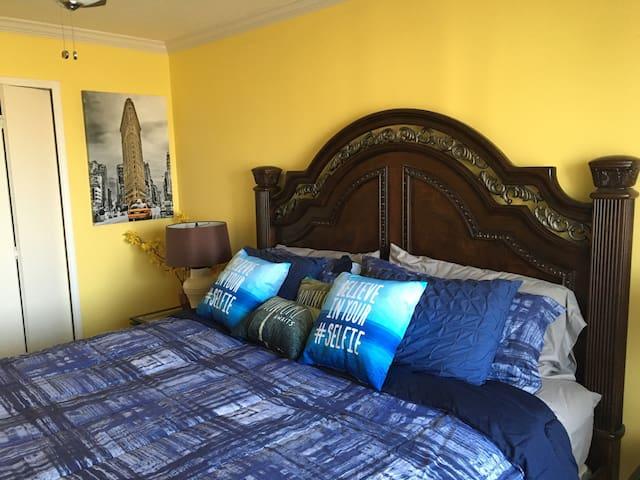 Elegant King Bedroom