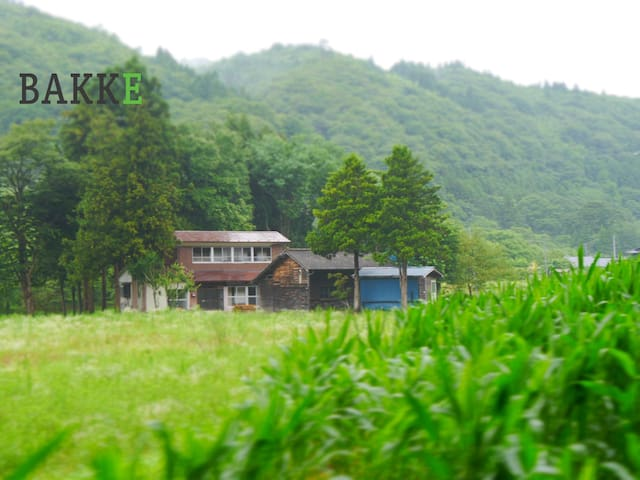 BAKKE◆Japanese RETRO country house◆shuttle service