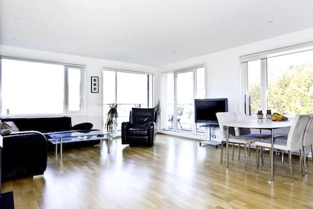 Bergen, modern apartment on charming square