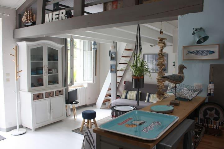 Oceà, petite maison cosy  sur l 'île d'Oléron