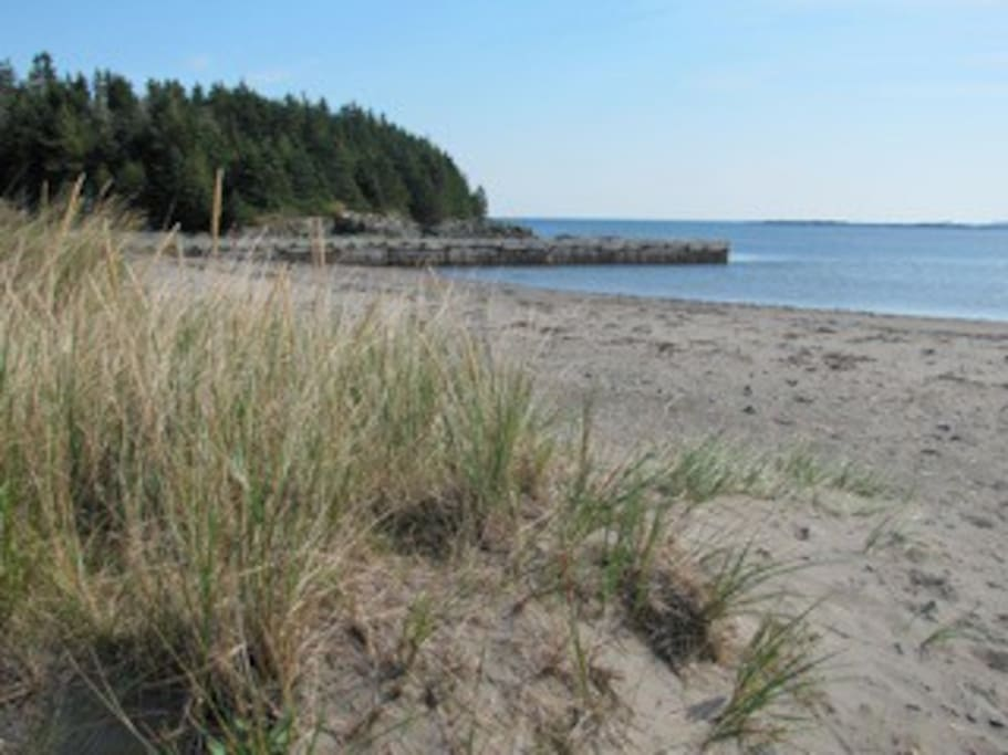 A view of Pondville Beach