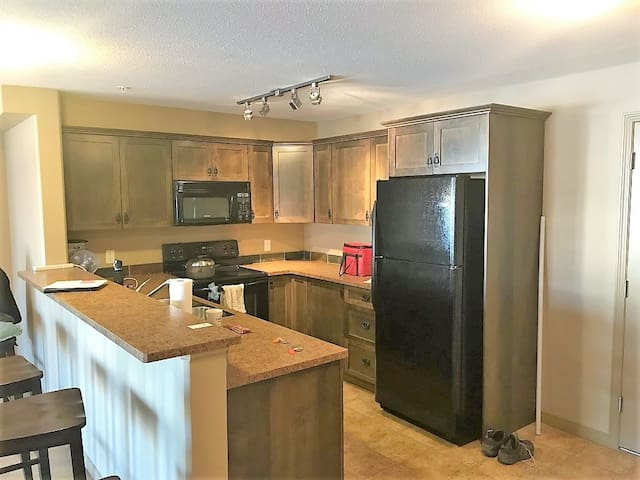 3 bedroom 2 bath condo apt. in Radium Hot Springs.