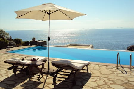 Our dream summer villa: Your Haven! - Koundouros