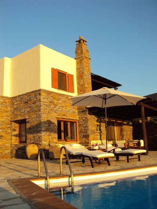 The House - Exterior spaces & Exterior Dining Area (seats 6-8 people)