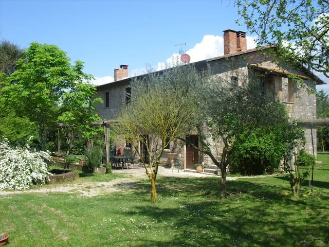 Casale Piantata Countryhouse Pool 70 km north Rome - Orte - Casa