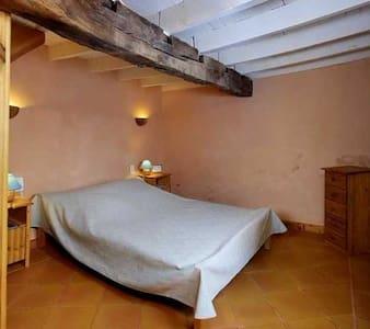 Chambre duplex avec s. bain privée - Montverdun