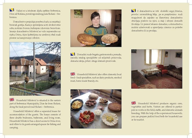 Feel daily life of our family! :) - Skelani - Bed & Breakfast