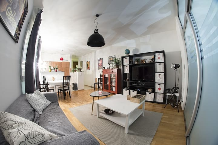 Joli appartement spacieux  - Villars-sur-Glâne - Lägenhet