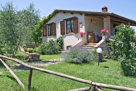 Fonte del Salcio - Nonna Rosa 4+3 - Cinigiano - Apartamento