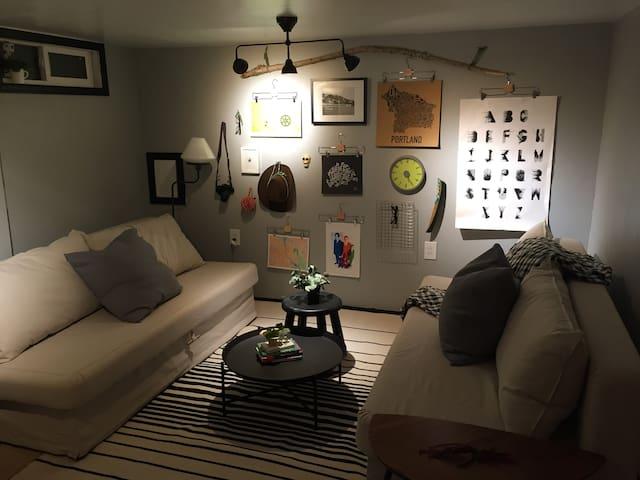 Cozy, Convenient and Private N. Portland Apartment