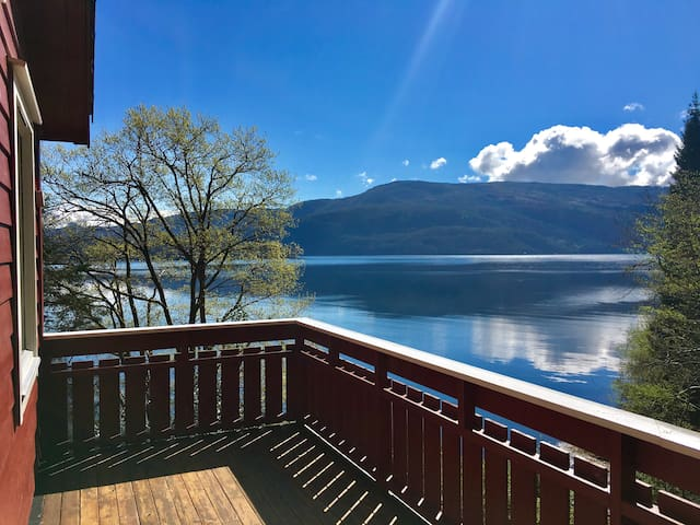 Cabin by Hardanger Fjord