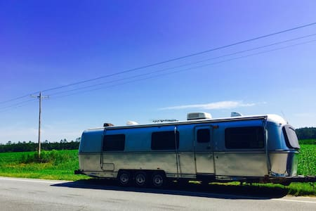 Vintage Living in Downtown Green Cove Springs! - Green Cove Springs - 露營車