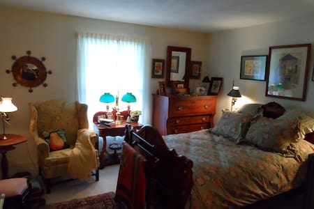 A charming bedroom/ private bath - Elmira - Appartement