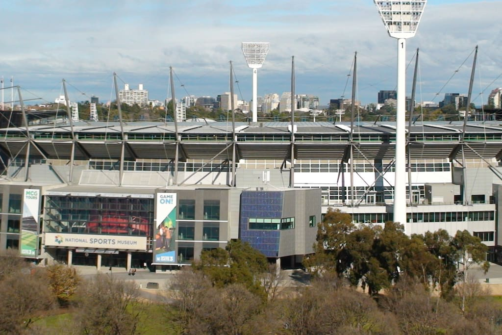 Close up view of MCG