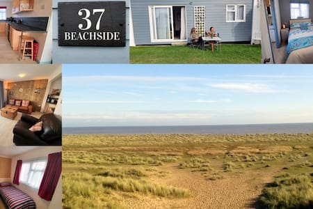 En-suite 'Beachside Holiday Chalet' Beach Access