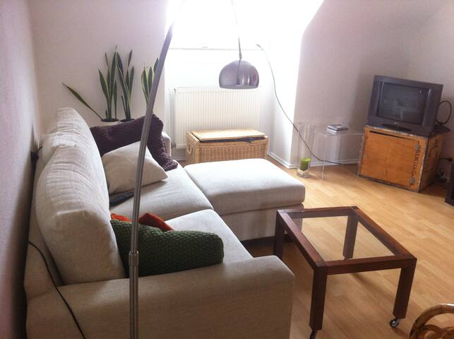 Cosy Cityappartment: 5.6.-14.6.15 - Frankfurt - Appartement